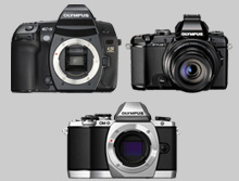 olympus cameras, olympus dslr, olympus digital slr, olympus mirrorless, olympus point & shoots