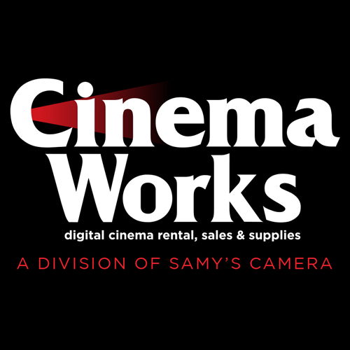Cinema Works - Digital Cinema Rentals, Sales & Supplies Logo