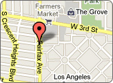 Los Angeles Store & Rentals Map
