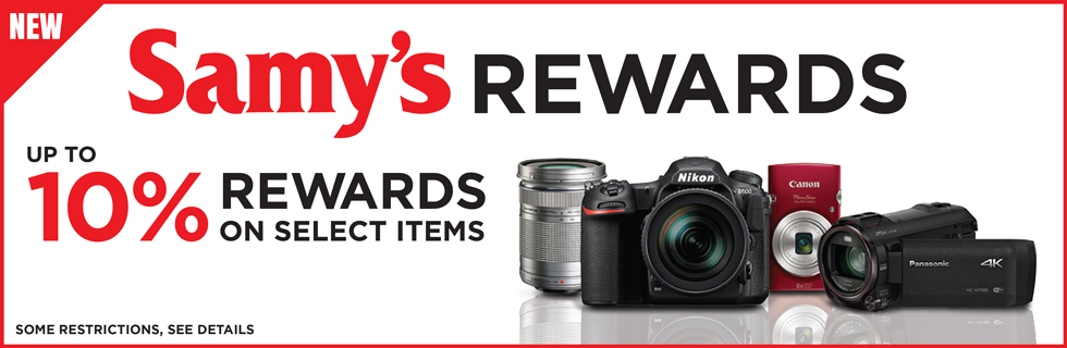 Samy's Camera Rewards Program