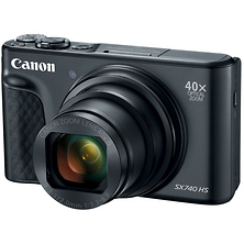 PowerShot SX740 HS Digital Camera (Black) Image 0