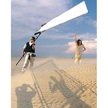 Sun-Swatter Big 6' x 8' 2/3 Translucent with Frame, Screen, Shoulder Bag. Image 0