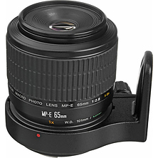 MP-E 65mm f/2.8 1-5x Manual Focus Macro Lens with Tripod Mount Ring Image 0