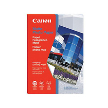 Photo Paper Matte, 13 x 19 Inches, 20 Sheets Image 0