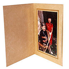 Ivory Marble Photo Folder 4x6 in. Image 0