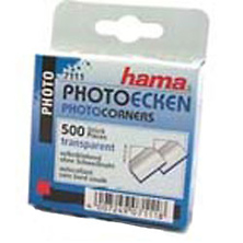 Clear Photo Corners (500 Pack) Image 0