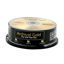 Archival Gold CD-R 25-Pack Spindle Image 0