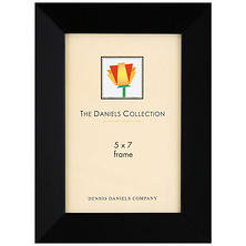 Angled Wood Frame Ebony Black 5 x 7 in. Image 0