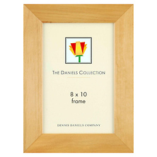 Angled Gallery Wood Molding Frame Natural Blonde 8 x 10 in. Image 0