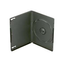 Single DVD Movie Case - Black Image 0