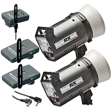 Digital Style Combo 600RX Two Monolight Kit with EL Skyport Image 0