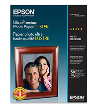 Ultra Premium Photo Paper Luster 8.5x11in. - 50 sheets Image 0