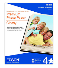 Premium Glossy Photo Ink Jet Paper, 11x14in. - 20 sheets Image 0