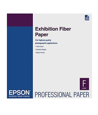 Exhibition Fiber Paper for Inkjet, 13 x 19in. (25 Sheets) Image 0