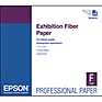 Exhibition Fiber Paper for Inkjet, 17 x 22in. (25 Sheets)