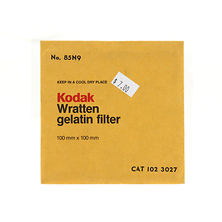 100mm 85N9 Color Conversion Wratten Gel Filter Image 0