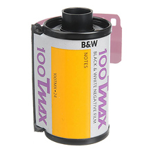 T-Max 100, 100TMX, Black & White Negative Film ISO 100, 35mm Size, 24 Exposure Image 0
