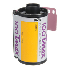 TMX T-MAX 100 B&W Negative Film, 35mm, 36 Exposures, Single Roll Image 0