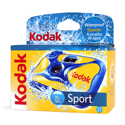 Water & Sport Waterproof (50'/15 m) 35mm Disposable Camera Image 0