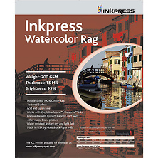 Watercolor Rag Paper 13 x 19 In. 25 Sheet Image 0