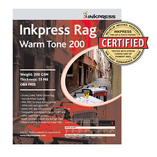 Picture Rag Warm Tone Paper 200 gsm 8.5 x 11in. - 25 Sheets Image 0