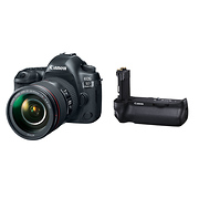 EOS 5D Mark IV Digital SLR Camera with 24-105mm Lens and BG-E20 Battery Grip