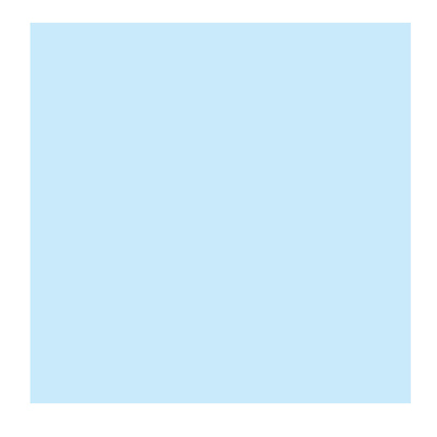 4 x 4in. CC 05 Cyan Polyester Filter Image 0