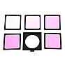 Magenta Color Compensating Polyester Filter Set with Gel Snap Holder Thumbnail 2