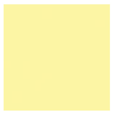 3 x 3in. CC 025 Yellow Polyester Filter Image 0