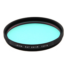 E67 UVA/IR Glass Filter (Black) Image 0