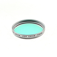 E39 UV Infrared Filter (Silver) Image 0
