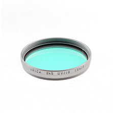 E43 UV Infrared Filter (Silver) Image 0