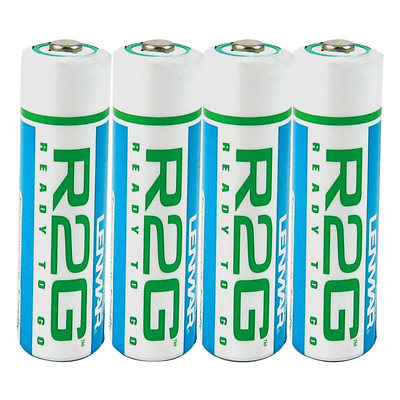 Pre-Charged R2G AA Rechargeable Batteries 2150mAh Image 0