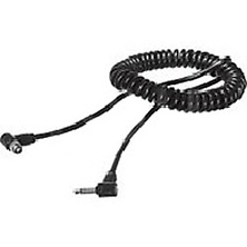 Nikon PC Screw-Lock to Miniphone Camera Synch Cable - Coiled - 21