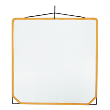 Solid Frame Scrim White Artificial Silk (48x48 In.) Image 0