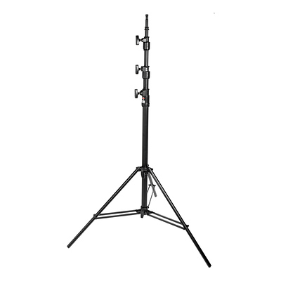 Light Heavy Kit Triple Riser Stand - Black, 12' 5