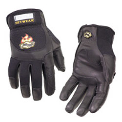 Pro Leather Gloves, Small Black Image 0