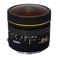 8mm f/3.5 EX DG Circular Fisheye Auto Focus Lens for Canon Image 0