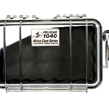 1040 Micro Hard Case (Clear Black) Image 0