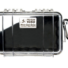 1050 Watertight Micro Hard Case (Clear Black) Image 0