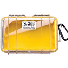 1050 Watertight Micro Hard Case  (Clear Yellow) Image 0