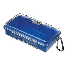 1060 Watertight Micro Hard Case (Clear Blue) Image 0