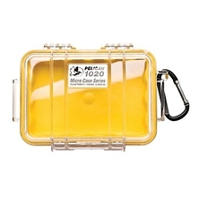 1020 Micro Hard Case (Clear Yellow) Image 0