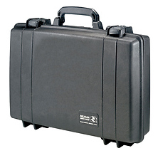 1490 Attache/Computer Case with Foam (Black) Image 0