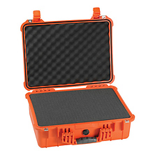 1520 Watertight Hard Case with Foam insert - Orange Image 0