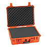 1520 Watertight Hard Case with Foam insert - Orange
