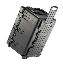 1660 Watertight Jumbo Hard Case with Foam Inserts and Wheels - Black Image 0