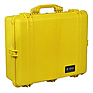1600 Watertight Hard Case with Foam insert - Yellow