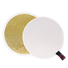 Soft Gold/White Reversible LiteDisc 52 in. Image 0