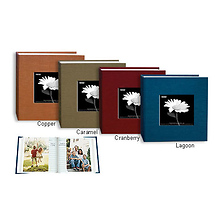 4x6 Silk Frame Bi-Directional Photo Album (Assorted Colors) Image 0